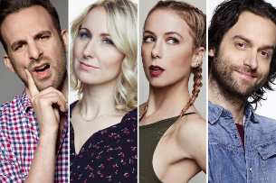 At the Improv: Chris D'Elia, Iliza Shlesinger, Nikki Glaser, Melissa McQueen, Brian Monarch, and more