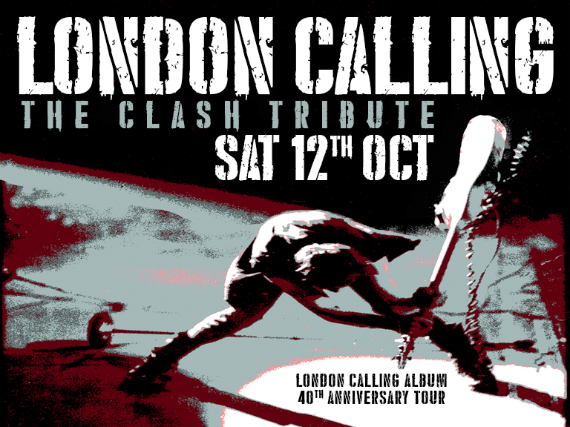 972bb30ebf Tickets for LONDON CALLING Play The Clash