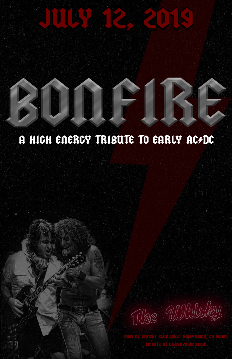 BONFIRE (A tribute to AC/DC), Don't Trip, SE7EN4, Maximum Bob, Rock Royalty, Nicole & Scotty, Pescaterritory, Devonshire Downs
