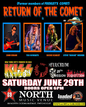 Return of the Comet (Ft. Former Members of Frehley's Comet)