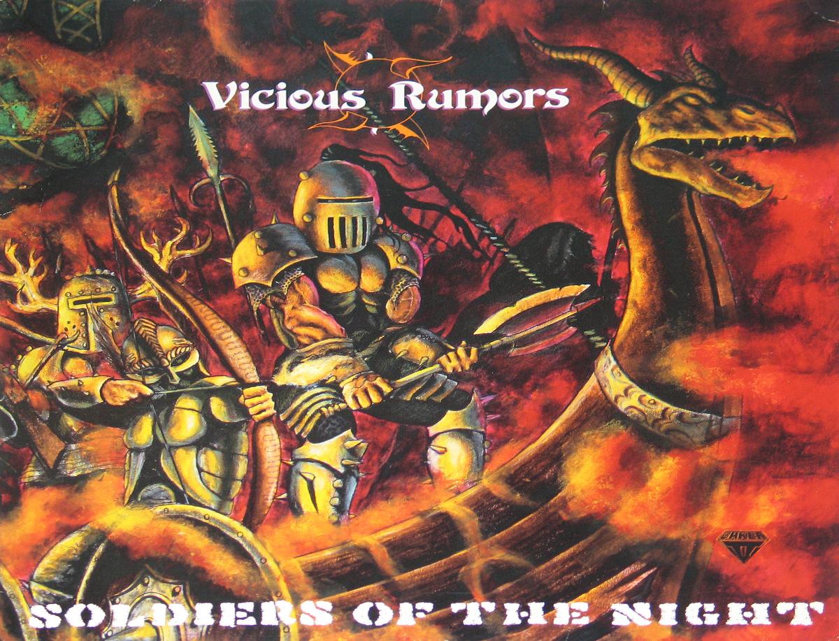 Vicious Rumors, Ruthless, Rambo the Band, Kris Kivo, Left Side Up