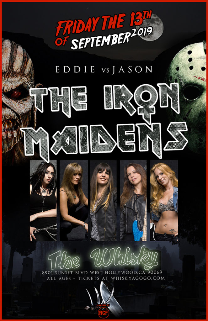 THE IRON MAIDENS - The World's Only All Female Tribute to Iron Maiden, Guitar & Whiskey Club, Corners of Sanctuary, A Balance of Power, Whiskey Dogz, Fall For Nothing, Suburban Park