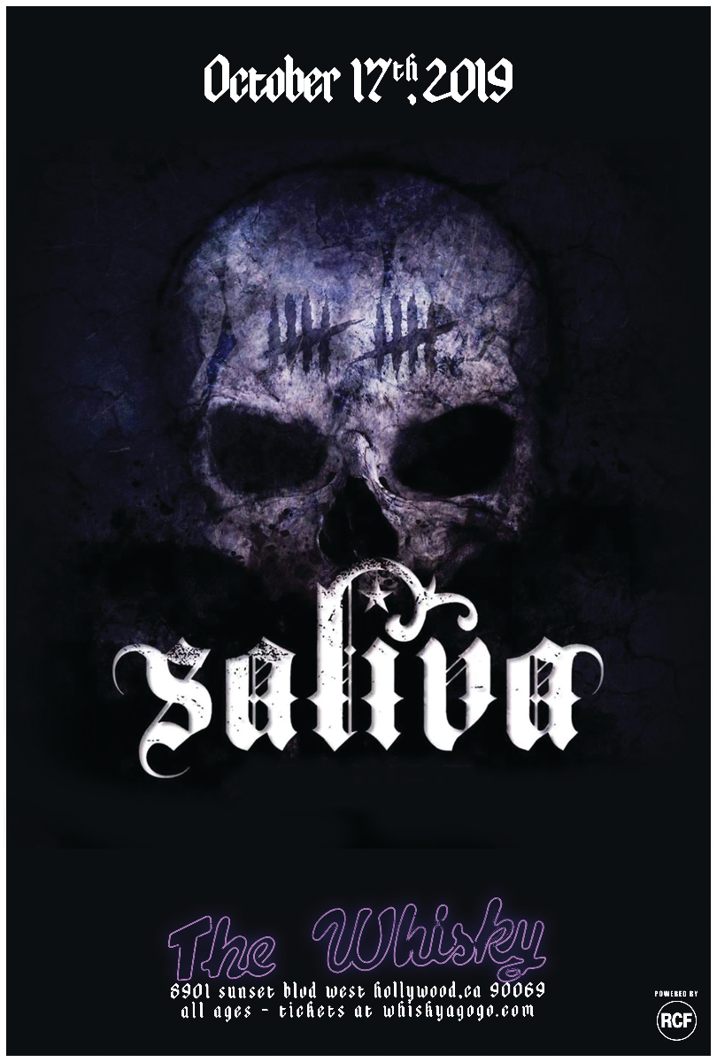 Saliva, State Line Empire, This Fire Burns, Defining 13, All-Some, Beast Machine, The Almas