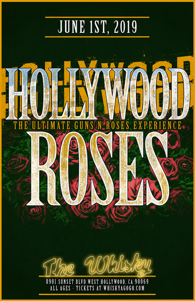 Hollywood Roses (A Tribute to Guns N Roses), Jimmy Swagg & the Lipstix, Soul Exchange, Melted Vinyl, The Negotiators