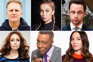 At the Improv: Nick Kroll, Arsenio Hall, Iliza Shlesinger, Michael Rapaport, Whitney Cummings, & more!