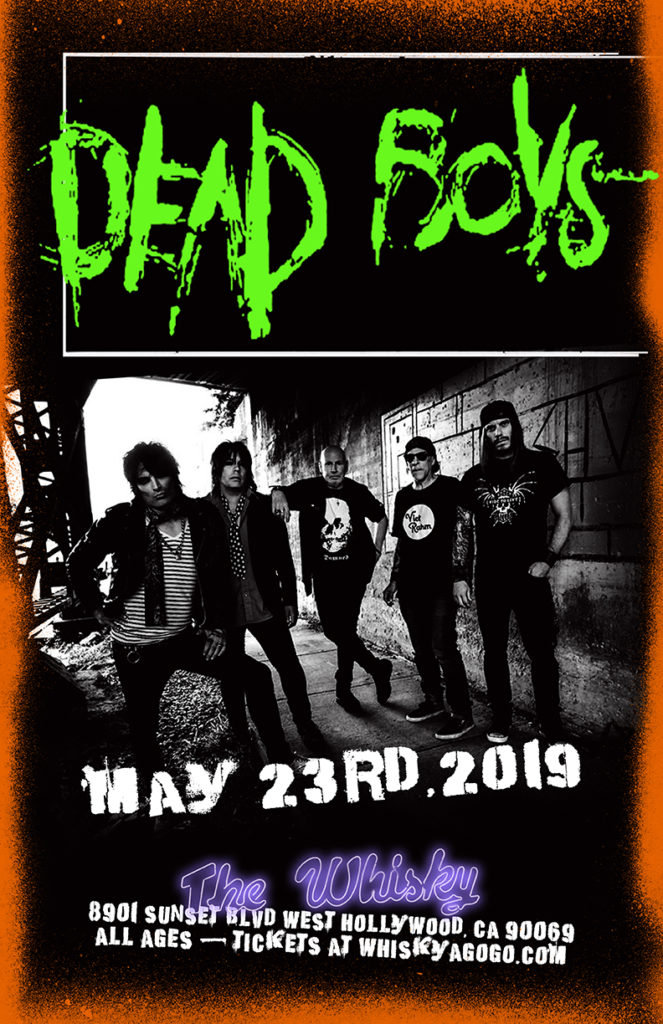 Dead Boys, The Roxy Suicide , Time Out, Robbers, The Raskins, Maximum Bob