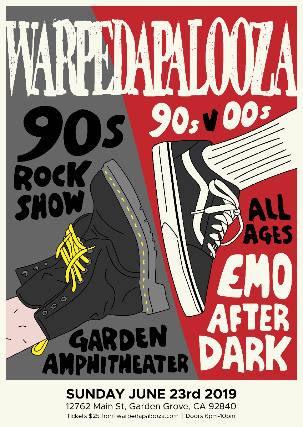 Warpedapalooza : 90s VS Y2k