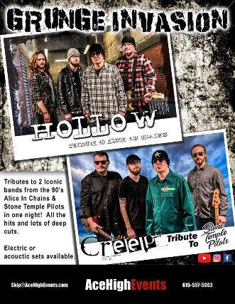 A Tribute To Alice In Chains and Stone Temple Pilots with Hollow and C