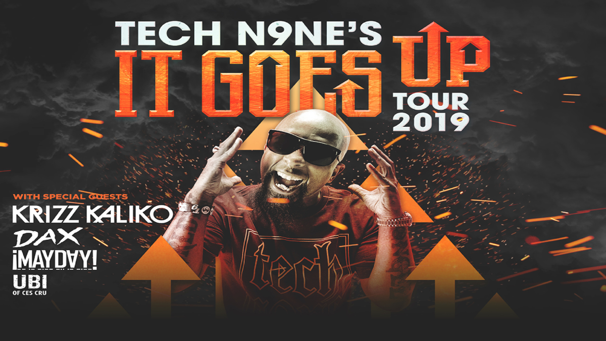 Tech N9ne: It Goes Up Tour 2019