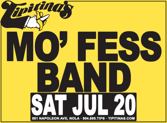 Mo' Fess Band featuring Earl Gordon, Tom Worrell, Tony Dagradi, Lance