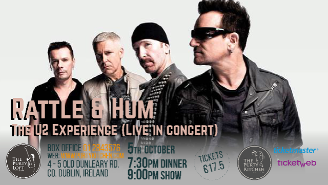 Ticket for Rattle & Hum - The U2 Experience (Live in concert)