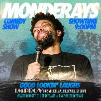 Improv Presents: MONDERAYS with Deray Davis, Ismo, Will Miles, Craig Low, Sydney Castillo, Saladu and more!