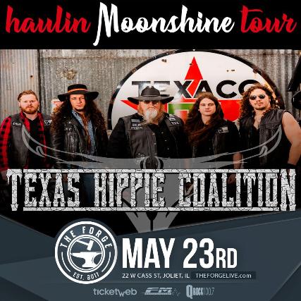 Texas Hippie Coalition, Rachel's Bully, Tough Ombres, Fierce Atmospher