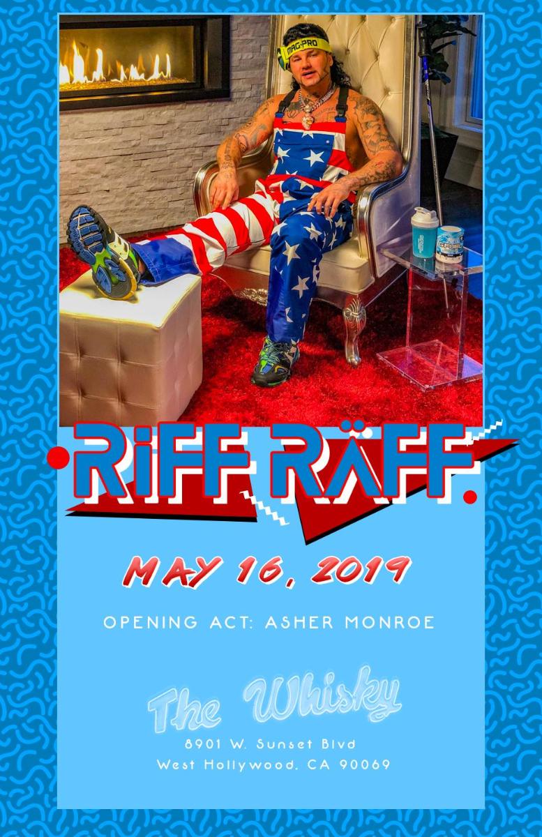 RiFF RAFF, Asher Monroe, Xane, West Coast Players , 1968, Monsternaut