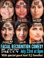 Facial Recognition Comedy