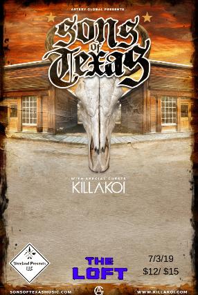 Sons of Texas, Killakoi