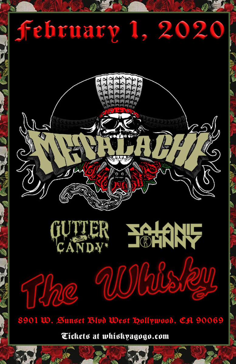 Metalachi, Gutter Candy, Satanic Johnny