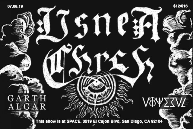 Usnea and CHRCH with Special Guests At Space