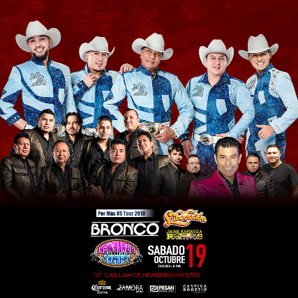 Bronco Por Mas Us Tour 2019