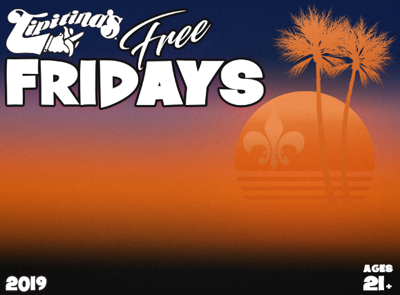 Free Friday Concert Series featuring Naughty Professor + Big Easy Braw