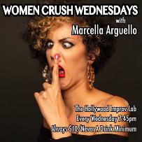 Women Crush Wednesdays with Marcella Arguello, Jackie Kashian, Jamie Loftus, Liz Treyger, Ellen Ford, Charla Lauriston and more!