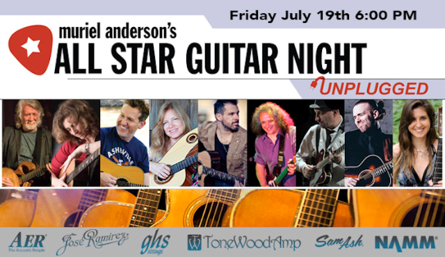 Muriel Andersonƒ¢Â€Â™S All Star Guitar Night featuring John McEuen, BR