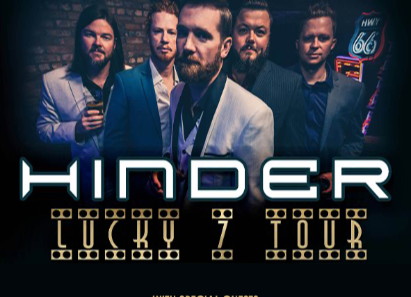 Hinder at Marquee Theatre