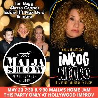 The Maija Show! Maija DiGiorgio, Ian Bagg, Alycia Cooper, Heather McConnell, Fernanda Tapia, Erin Hart, Matt Lewis
