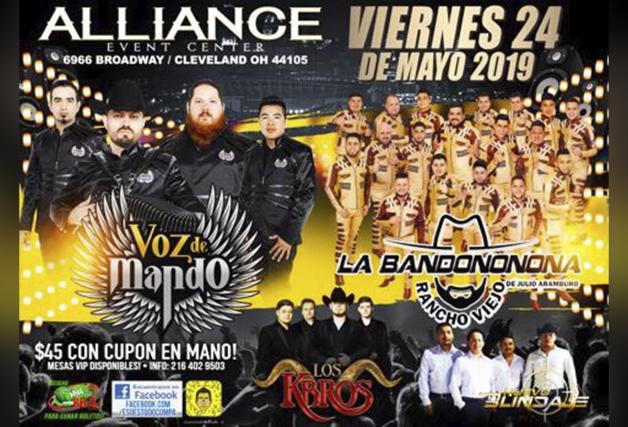 Voz De Mando, Banda Rancho Viejo , Los Kbros, Nuevo Blindaje