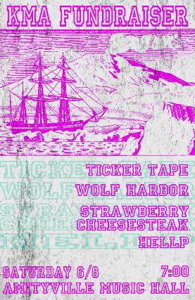 Ticker Tape, Wolf Harbor, Strawberry Cheesesteak, HELLP