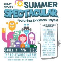Lesley Wolff's Summer Spectacular w/ Wayne Federman, Aida Rodriguez, Jonathan Hayes, Eddie Deila Siepe, Mav Viola and more!