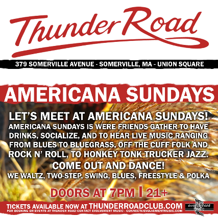 Americana Sundays 3rd Anniversay Party