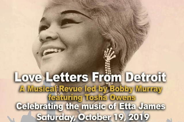 Love Letters From Detroit - Bobby Murray featuring Tosha Owens