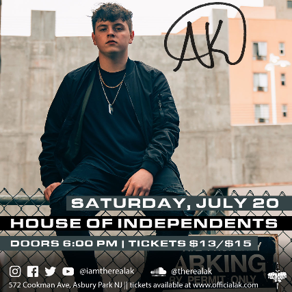 AK at House of Independents