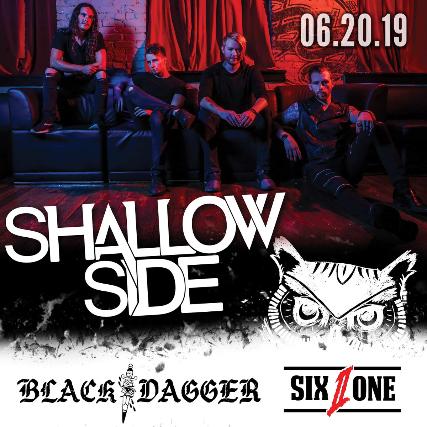 Shallowside, Black Dagger, Six To One, Parts Per Million, Hemlok