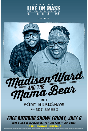 MADISEN WARD & THE MAMA BEAR