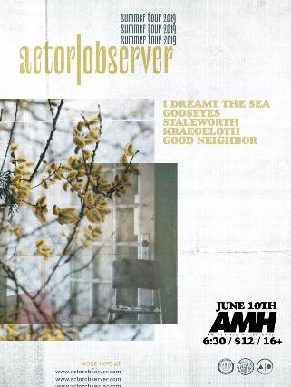 Actor | Observer, I Dreamt The Sea, Godseyes