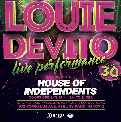 Louie Devito at House of Independents