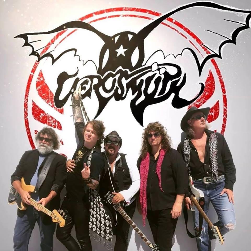 Aerosmÿthe (Tribute to Aerosmith) , 72 Rust, The Jungle, JFK Motorcade, Crowned In Chains, Headless Romantics