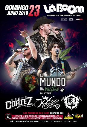 EL MUNDO DA VUELTAS 2019 TOUR