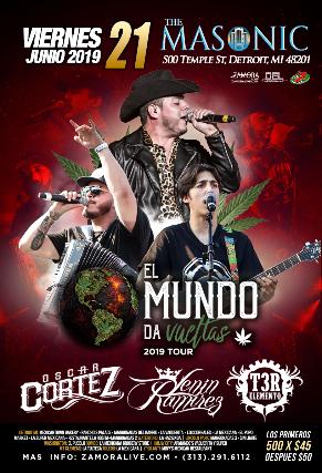 MESAS VIP - EL MUNDO DA VUELTAS 2019 TOUR