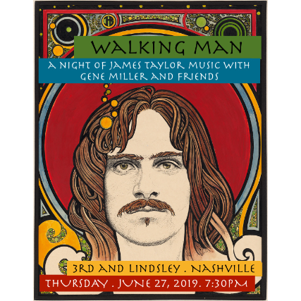 A Night of James Taylor Music  featuring Gene Miller and  an All- Star band