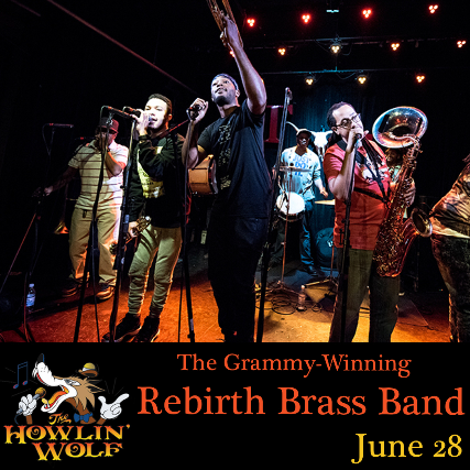 The Grammy-Winning Rebirth Brass Band plus J and the Causeways