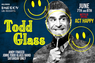 An Intimate Evening with Todd Glass ft. Special Guest Sarah Silverman!