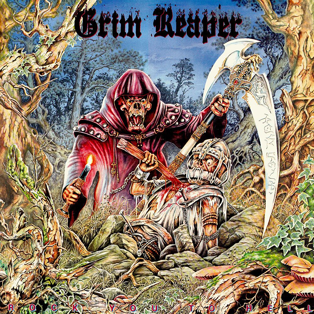 Steve Grimmett's Grim Reaper, Trip6, Powertribe, Humanoid, Vermin, KILLING TYRANNY