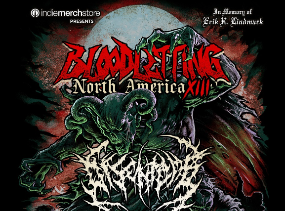 Bloodletting North America Tour XIII at Oakland Metro