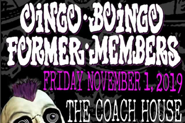 Oingo Boingo Former Members at The Coach House