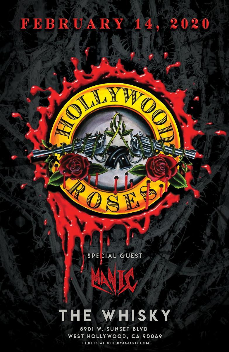 Hollywood Roses (Tribute to Guns N' Roses), Aerosmÿthe (Tribute to Aerosmith) , D-Day, Manic, Tara Alouise
