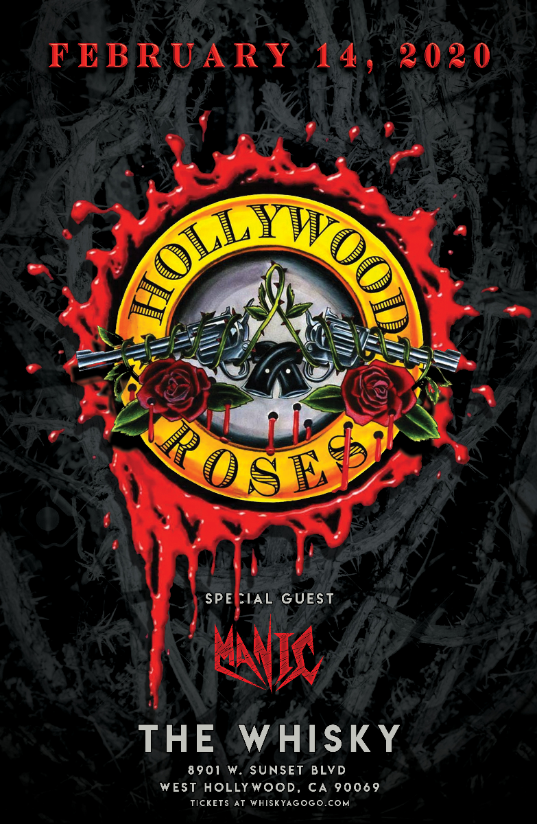 Hollywood Roses (Tribute to Guns N' Roses), D-Day, Manic