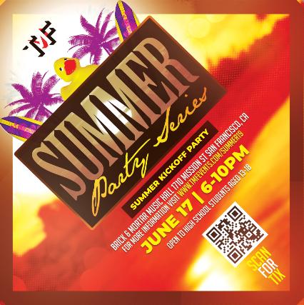 Summer Party Series  Featuring DJs  TheHexxFX & DJ Wild